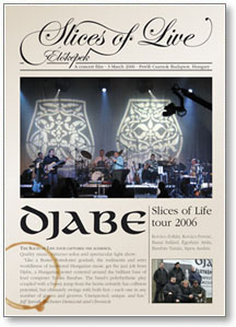 Djabe - Slices of Live - �l�k�pek (Live 2006)