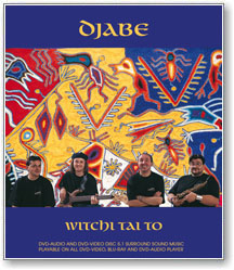 Djabe - Witchi Tai To (DVD audio + DVD video - dualdisc)